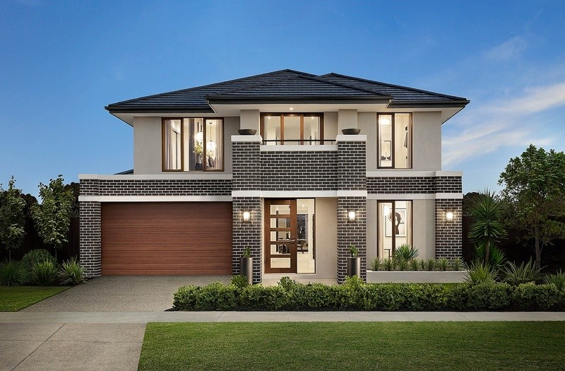 Double storey Canterbury Grand House by Carlisle Homes
