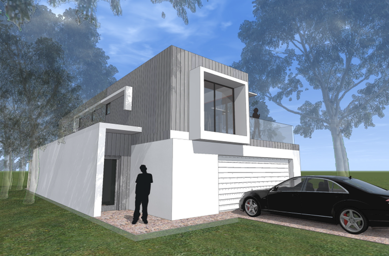 Double storey Exmouth Granny Flat by imagine kit homes