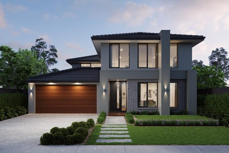 Double storey Manly House by Sherridon Homes