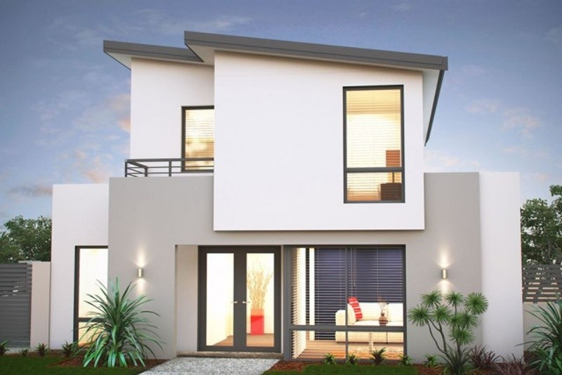 Double storey The Lonsdale House by New Level Homes