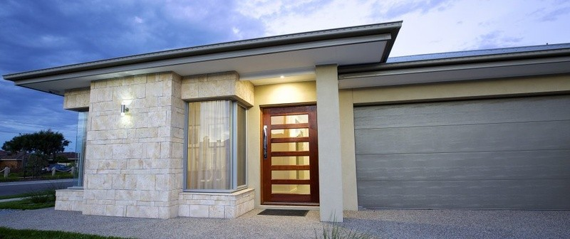 Single storey Courtyard 250 House by Affordable Family Homes VIC