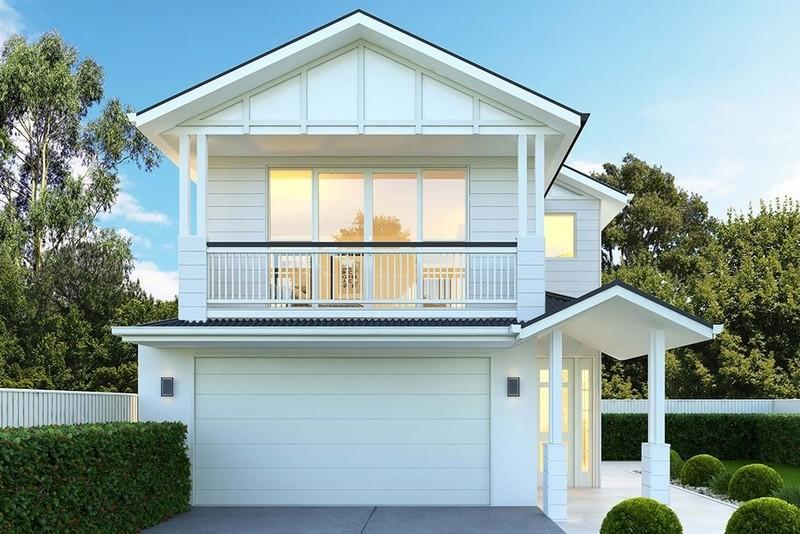 Double storey Cedar House by Alphaline Homes