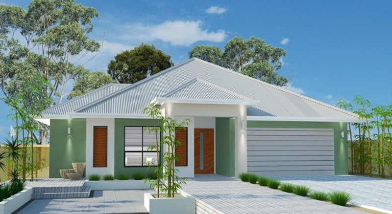 Single storey Bondi 300 House by Jazz Homes