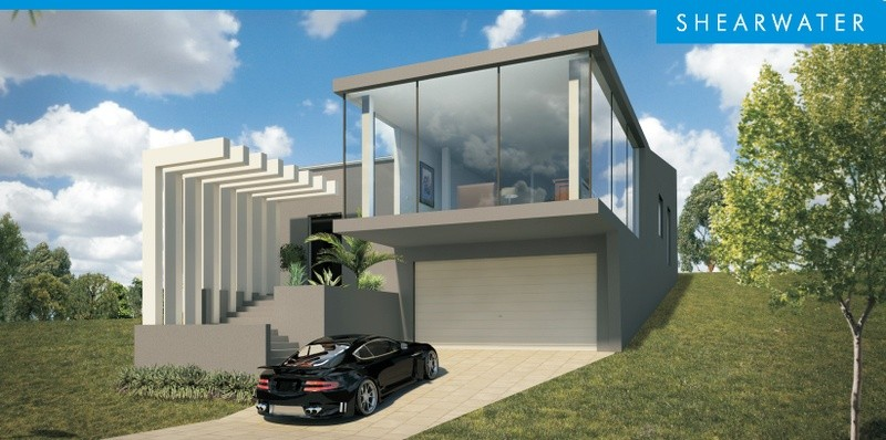 Double storey Shearwater House design