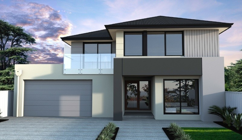 Double storey Pinnacle 430 House by Bentley Homes