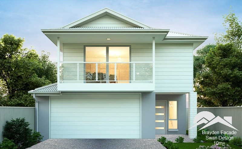 Double storey Swan House design