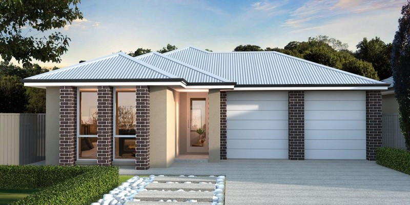 Single storey RF 225 House by Affordable Family Homes SA
