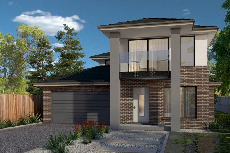 Double storey Contemporary House by Cavalier Homes