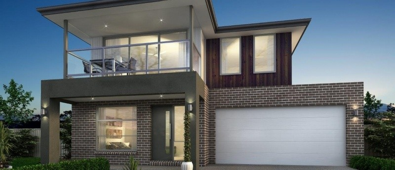 Double storey HUME 36 House by Sienna Homes