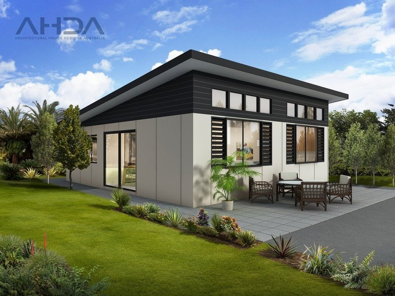 Single storey Modern  by Architectural House Designs Australia