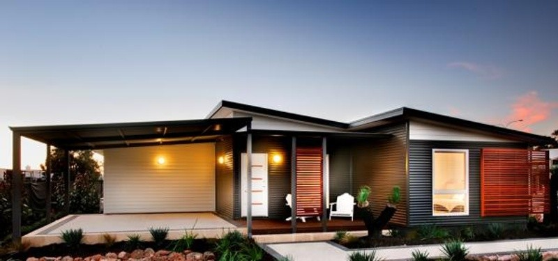 Single storey the echo beach House design