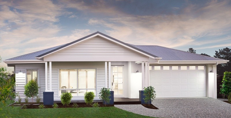 Single storey Aintree House by Burbank Homes QLD