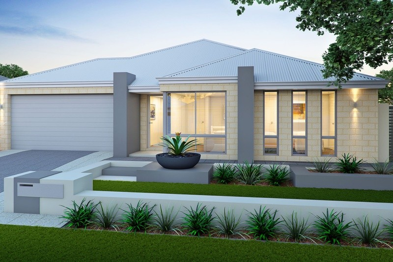 Single storey The Sabina House by Smooth Start