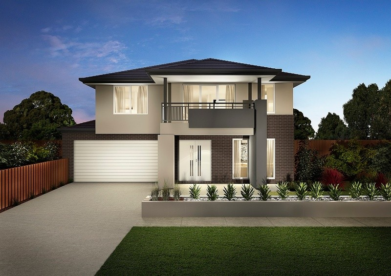 Double storey Montague Deluxe House by Carlisle Homes