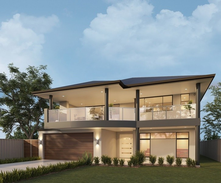 Double storey Swanbourne House by Great Living Homes