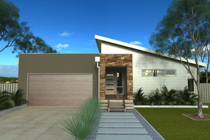 Single storey Sunnyside House design