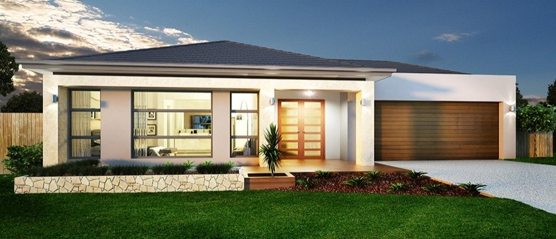 Single storey BARLOW 34 House by Sienna Homes