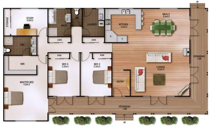 Single storey Sheridan House design