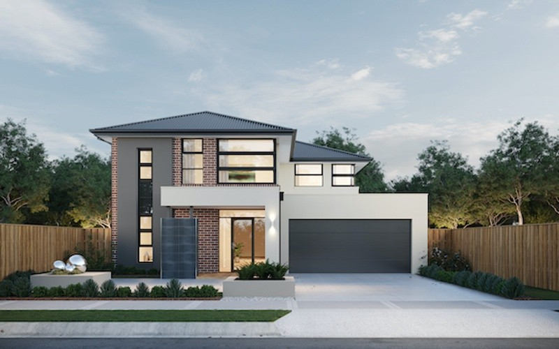 Double storey Glenaire 396 House by Fairhaven Homes