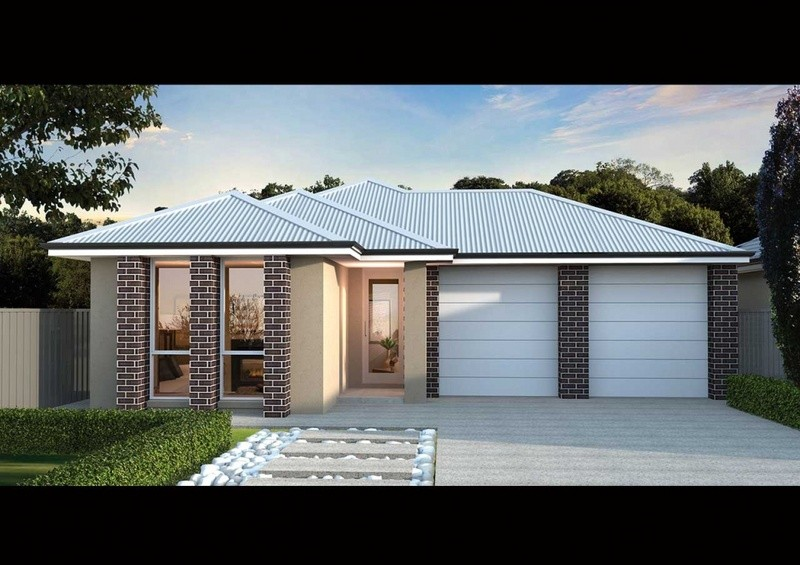 Single storey FS 195 House by Affordable Family Homes SA