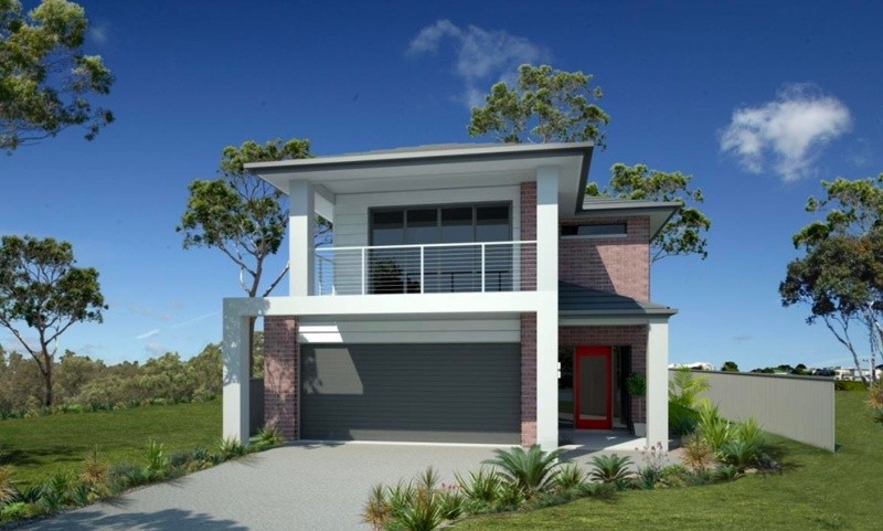 Double storey Parkwood House design