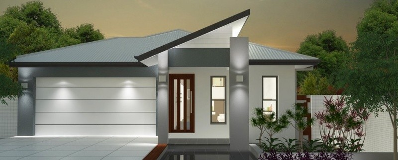 Single storey Sandtrax 190 House by Jazz Homes