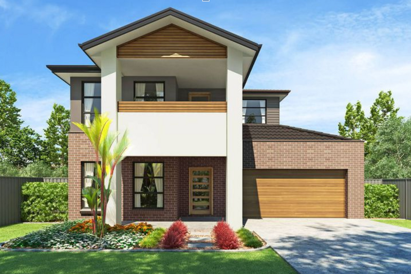Double storey Alexis House design