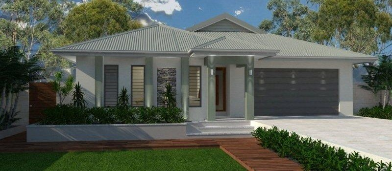 Single storey Kurrimine 215 House by Jazz Homes