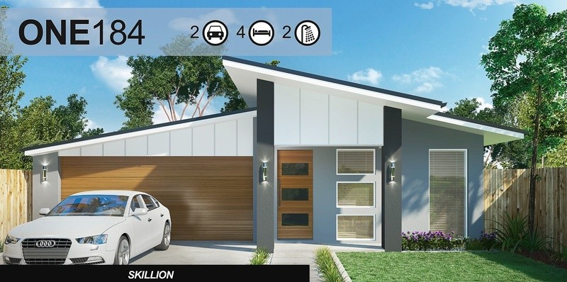 Single storey One 184 House by Homes4You Queensland