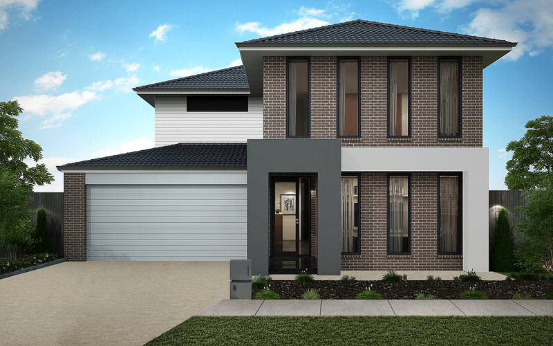 Double storey Heidecker 363 House by Omnia Homes