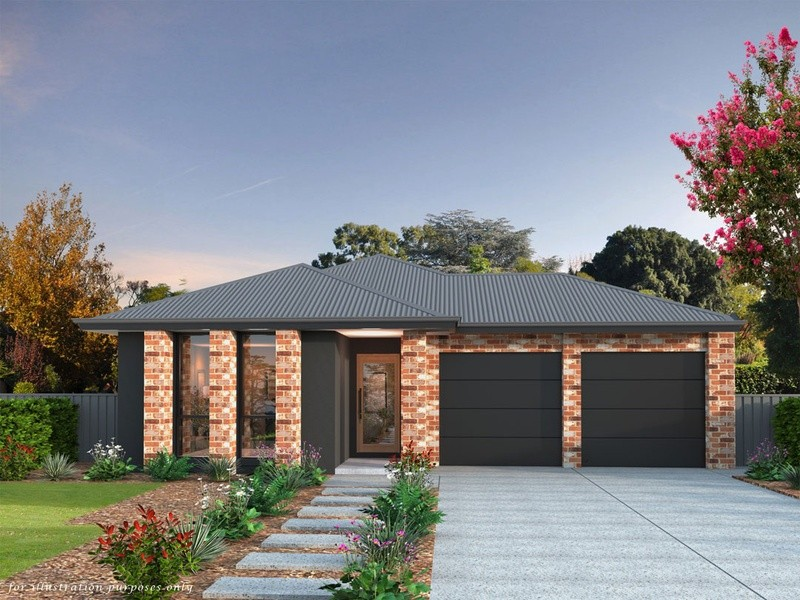 Single storey Family 1 Display House by Affordable Family Homes SA