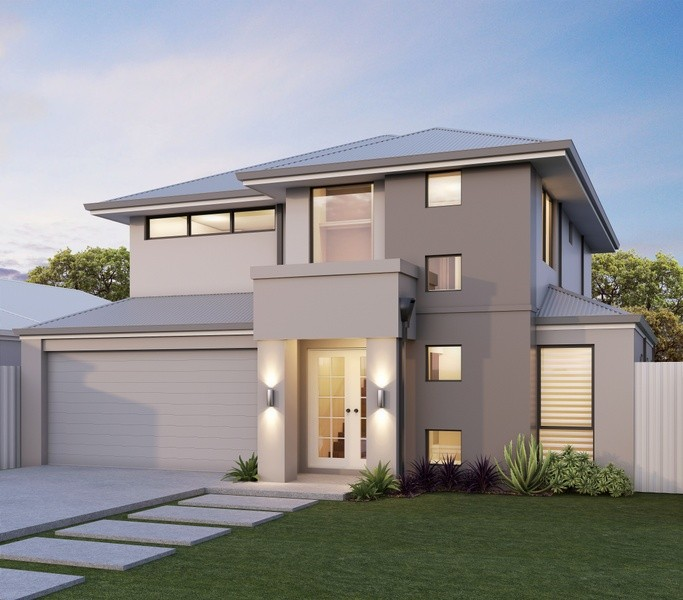 Double storey Contemporary House by Great Living Homes