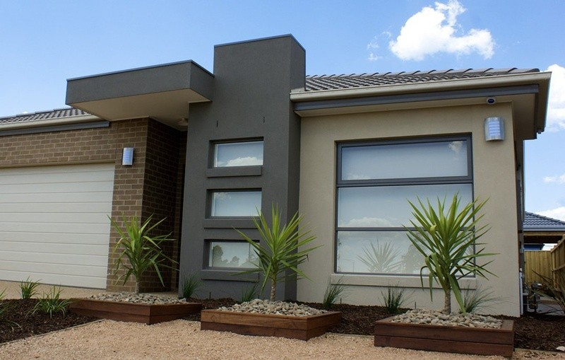 Single storey Trentham 193 House by Mimosa Homes