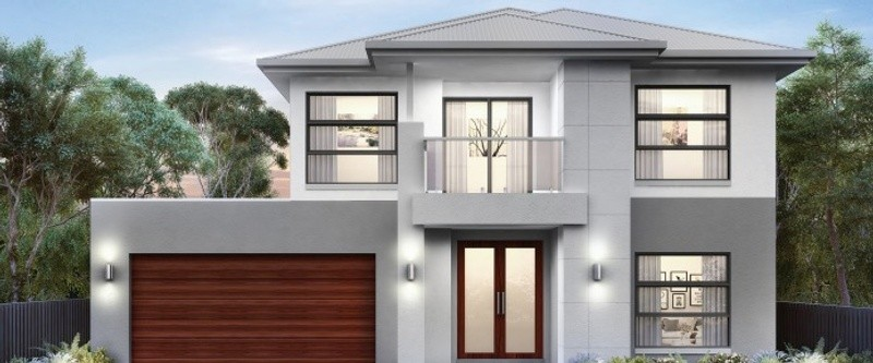 Double storey Corymbia 40 - Plato House by Singh Homes
