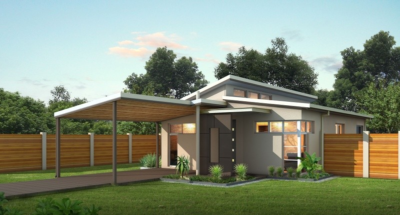 Single storey Modern Granny Flat by Great Living Homes