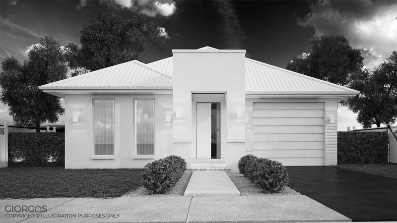Single storey Themis House by GIORGOS™