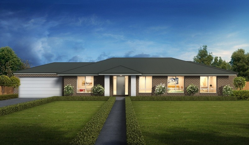 Single storey Coomera House by Cavalier Homes