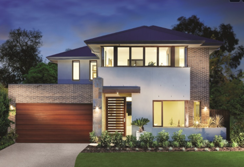 Double storey The Barossa House by Aspire Designer Homes
