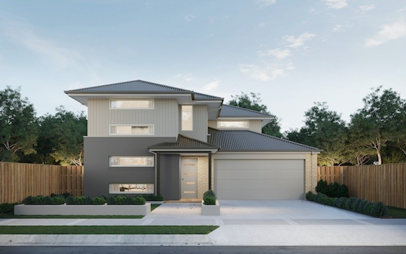 4 beds, 2 baths, 2 cars, 27.50 square facade