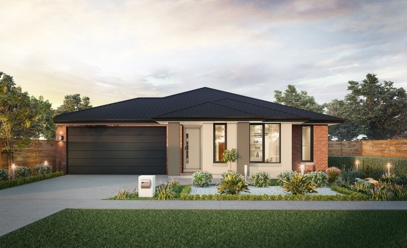 Single storey Contemporary House by H&L Victoria