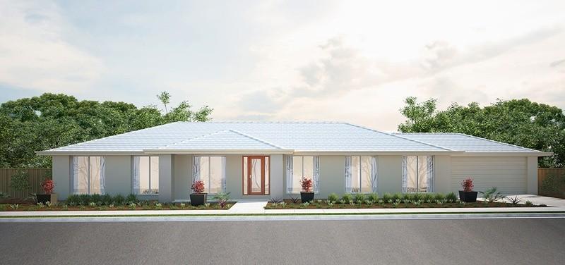 Single storey Lockyer House by Burbank Homes QLD