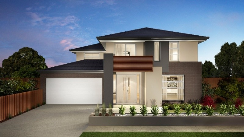 Double storey Contemporary House by Carlisle Homes