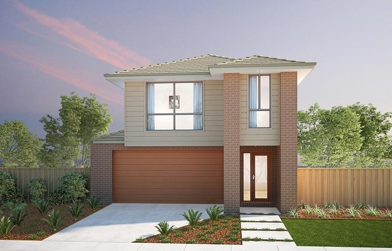 Double storey Wakerley - Upstairs Living House by Burbank Homes QLD