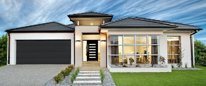 Single storey Traditional 255 House by Affordable Family Homes VIC