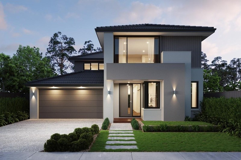 Double storey Glendale House by Sherridon Homes