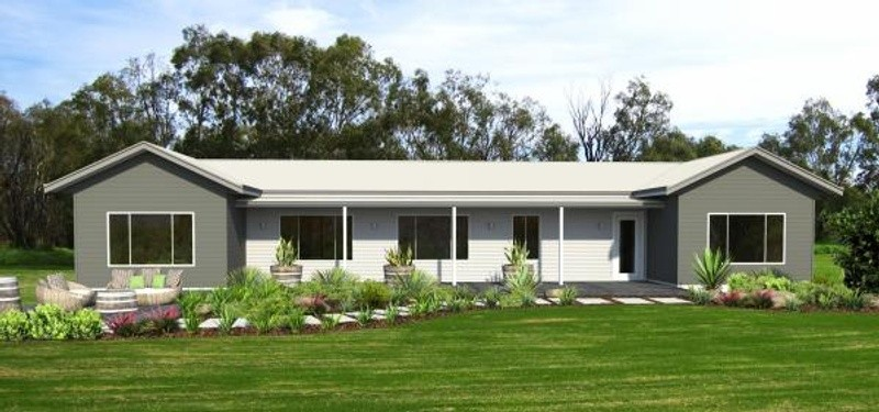 Single storey the roebuck House by TR Homes