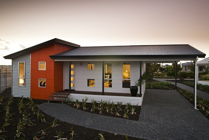 Single storey Alpha House by Rivergum Homes SA