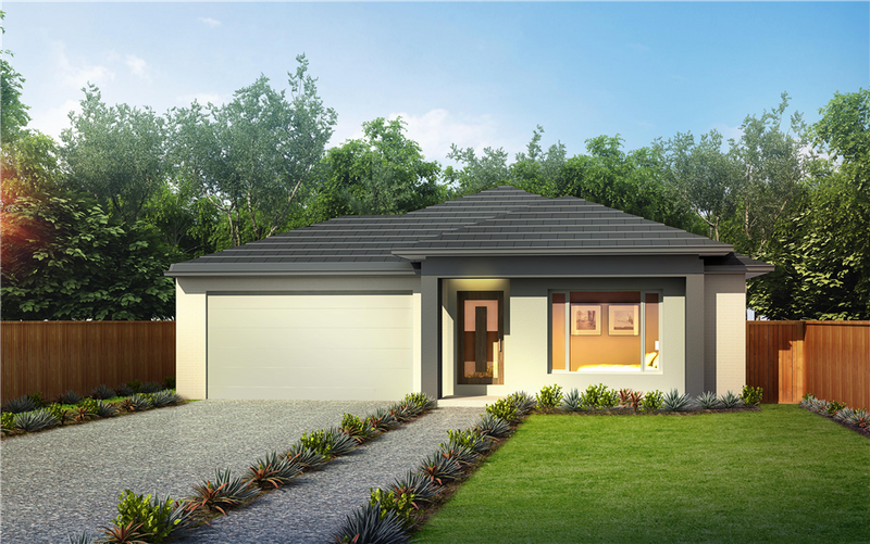 Single storey Barklay 29 House by Orbit Homes
