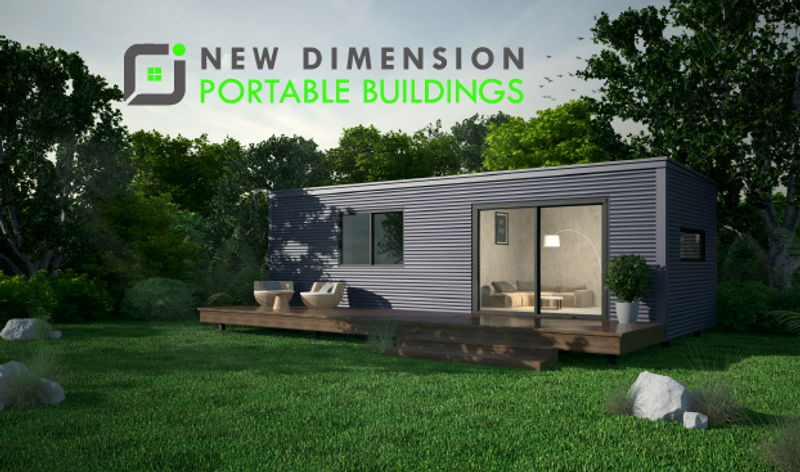 home design by New Dimension Portable Buildings