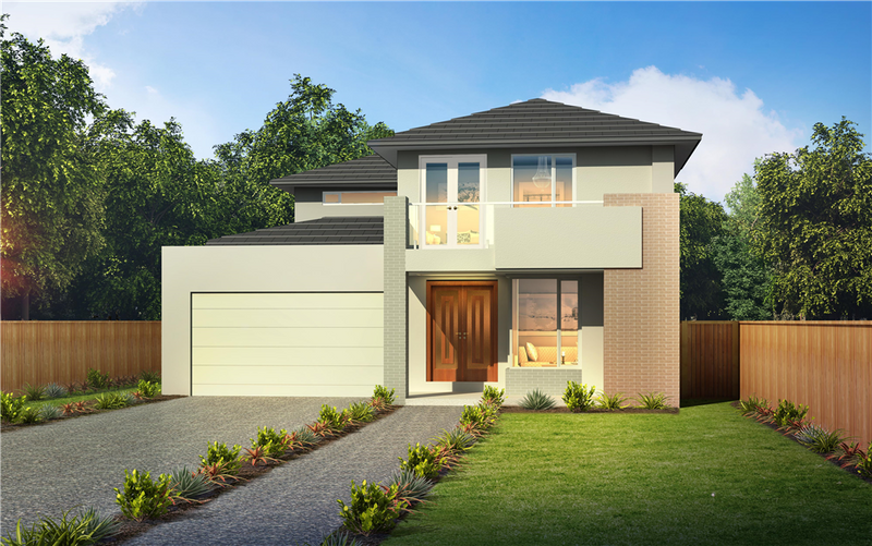 Double storey Sorrento 45 House by Orbit Homes